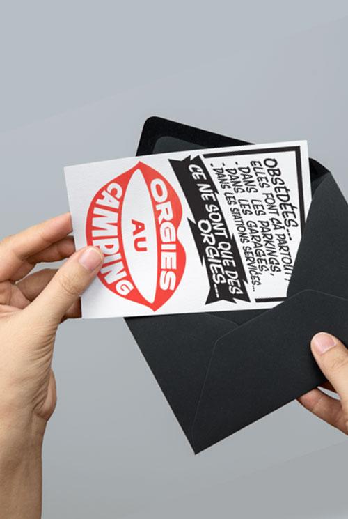 3 cartes postales